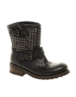 Titan Studded Leather boot