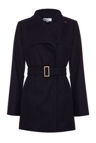 Oversized lapel coat