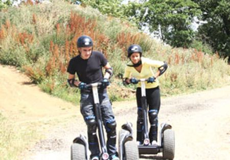 Buyagift Weekend Segway Rally for Two with Photo