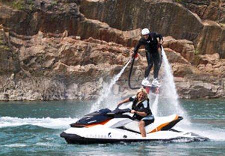 Buyagift One to one flyboarding experience in london