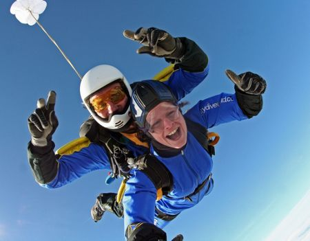 Buyagift Tandem Skydive in Northamptonshire
