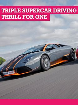 3 Supercar Driving With Passenger Ride