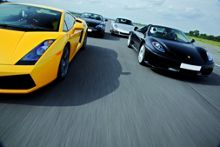 Buyagift Triple Supercar Driving Blast Special Offer