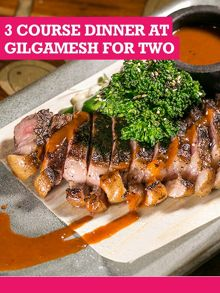 Buyagift Three Course Dinner At Gilgamesh For Two