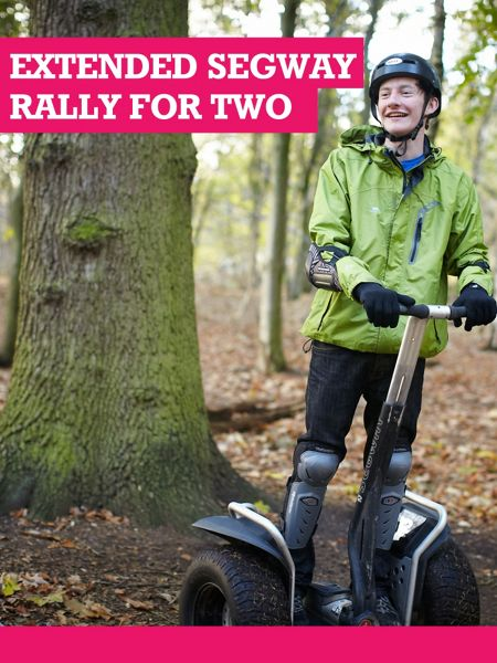 Buyagift Extended Segway Rally for Two