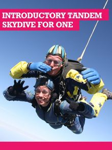Buyagift Introductory Tandem Skydive in Devon