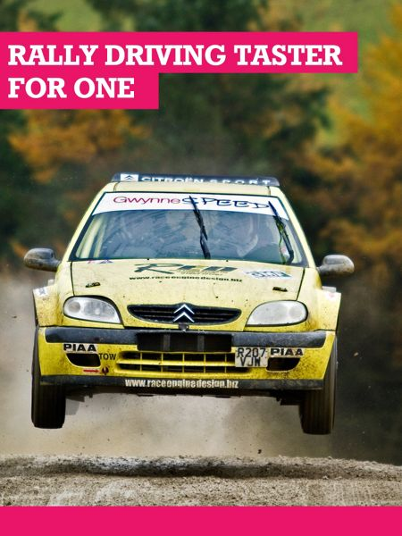 Buyagift Rally Driving Taster Experience