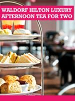 Buyagift Waldorf Hilton Luxury Afternoon Tea for 2
