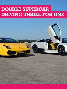 Buyagift Double Supercar Driving Thrill for One