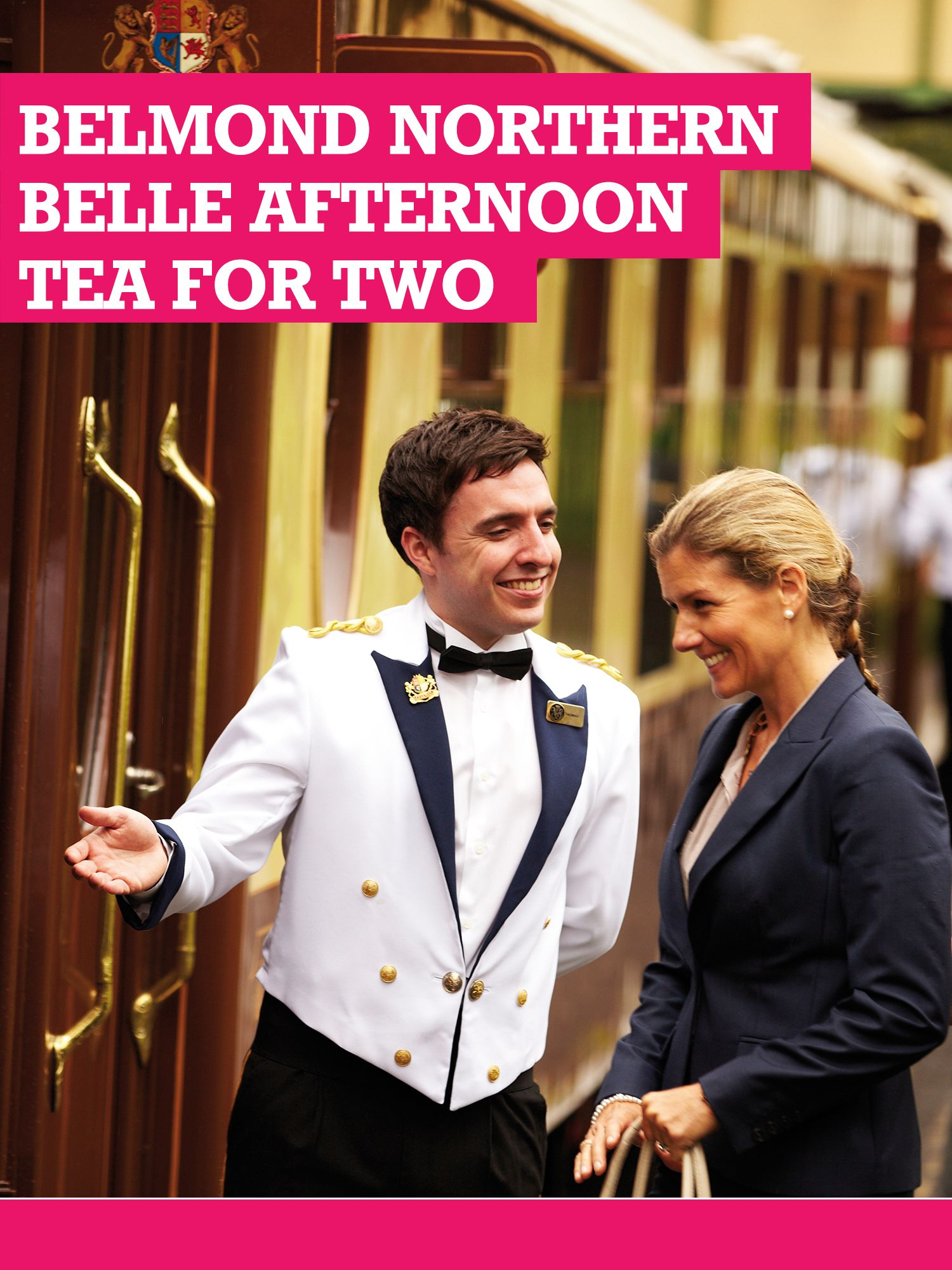 Buyagift Buyagift Belmond Northern Belle Afternoon Tea For Two