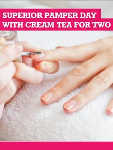 Buyagift Superior Pamper Day With Cream Tea For Two