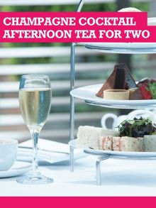 Buyagift Champagne Cocktail Afternoon Tea for Two