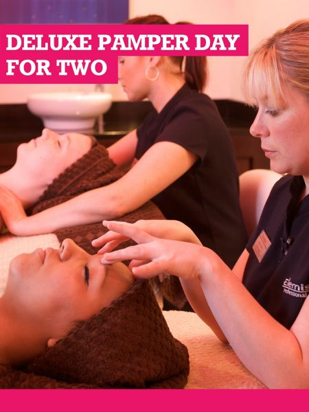 Buyagift Deluxe Pamper Day for Two at a Bannatynes Spa