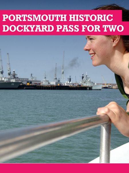 Buyagift Portsmouth Historic Dockyard Annual Pass for Two
