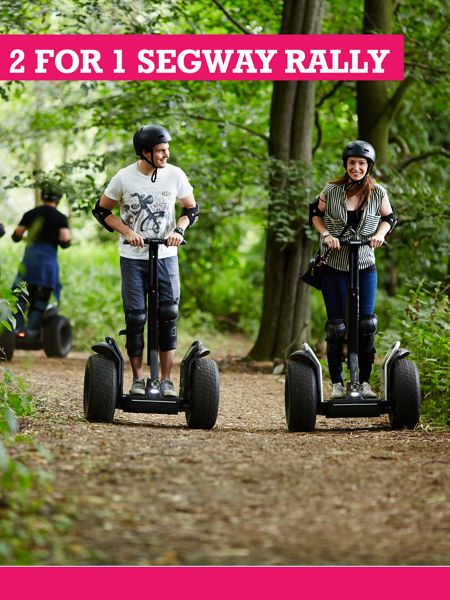 Buyagift 2 for 1 Segway Rally Anytime with Free Photo