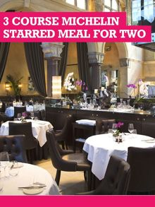 Buyagift Three Course Michelin Starred Meal For Two