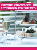 Buyagift Premium Champagne Afternoon Tea for Two