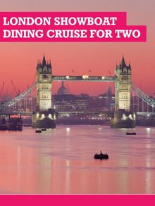 Buyagift London Showboat Dining Cruise for Two