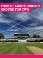 Buyagift Tour of Lord`s Cricket Ground with Lunch for Two