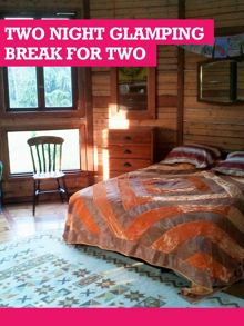 Buyagift Two Night Glamping Break for Two