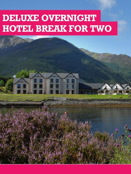 Buyagift Deluxe Overnight Hotel Break for Two