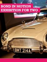 Buyagift Bond in Motion Exhibition For Two