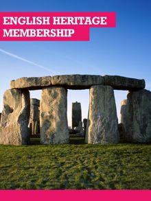 Buyagift English Heritage Joint Adult or Family Membership