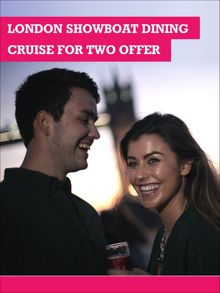 Buyagift London showboat dining cruise