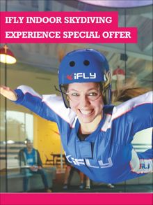 Buyagift Ifly indoor skydiving experience