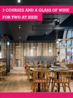 Buyagift 3 course meal at zizzi for 2