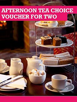 Afternoon Tea Choice Voucher For Two