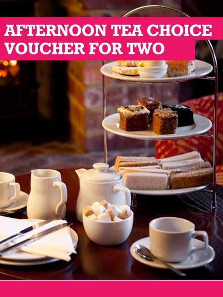 Buyagift Afternoon Tea Choice Voucher For Two