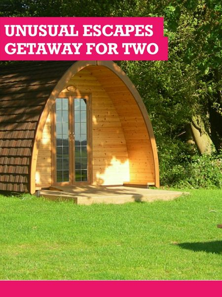 Buyagift Unusual Escapes Getaway For Two
