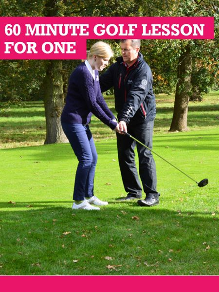 Buyagift 60 Minute Golf Lesson For One