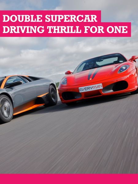 Buyagift Double Supercar Driving Thrill