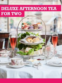 Buyagift Deluxe Afternoon Tea for Two Special Offer