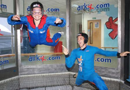 Buyagift Airkix Indoor Skydiving Experience for Two