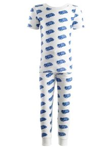 Rachel Riley Boys car jersey pyjamas