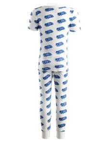 Boys car jersey pyjamas