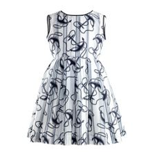 Girls maxi anchor dress
