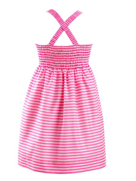 Rachel Riley Girls bow halter dress