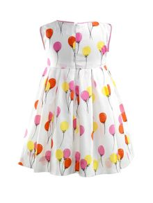 Baby girls balloon dress & bloomers