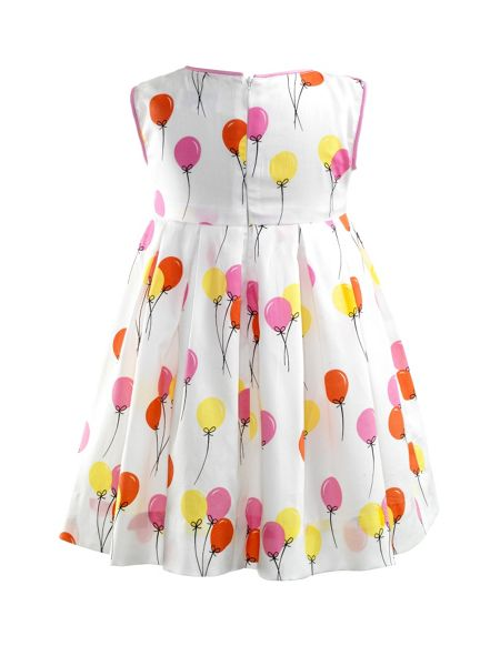 Rachel Riley Baby girls balloon dress & bloomers
