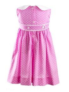 Baby girls polka dress & bloomers