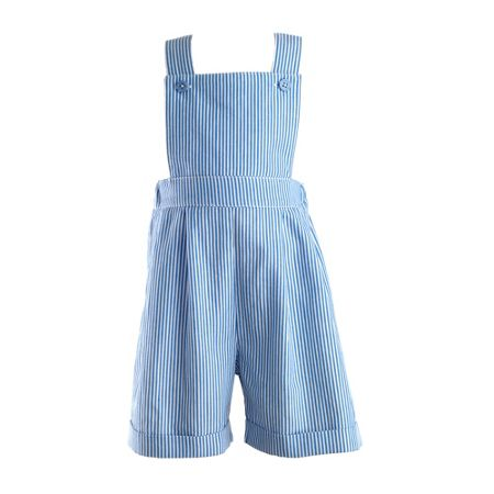 Rachel Riley Baby boys striped dungarees
