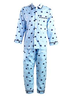 Boys crown pyjamas