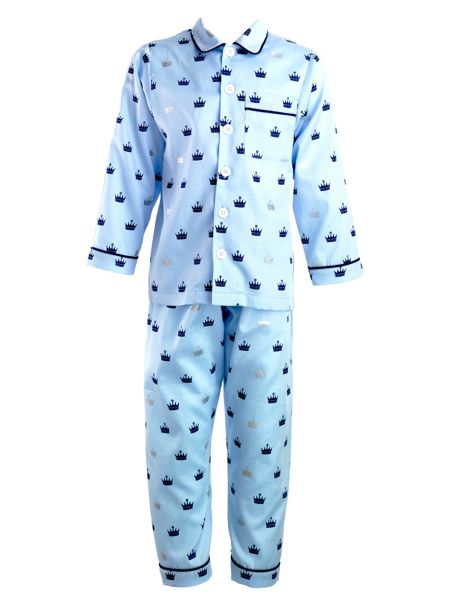 Rachel Riley Boys crown pyjamas