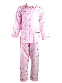 Girls Crown Pyjamas