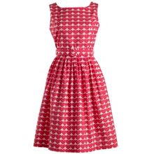 Rachel Riley Heart Print Dress