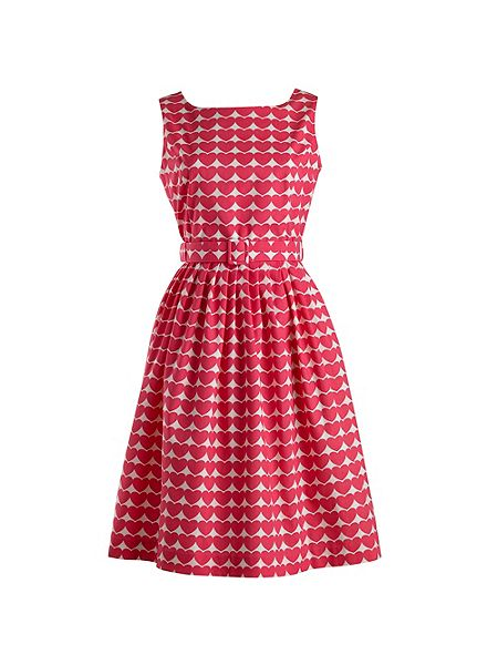 Heart Print Dress £119 by Rachel Riley at House of Fraser